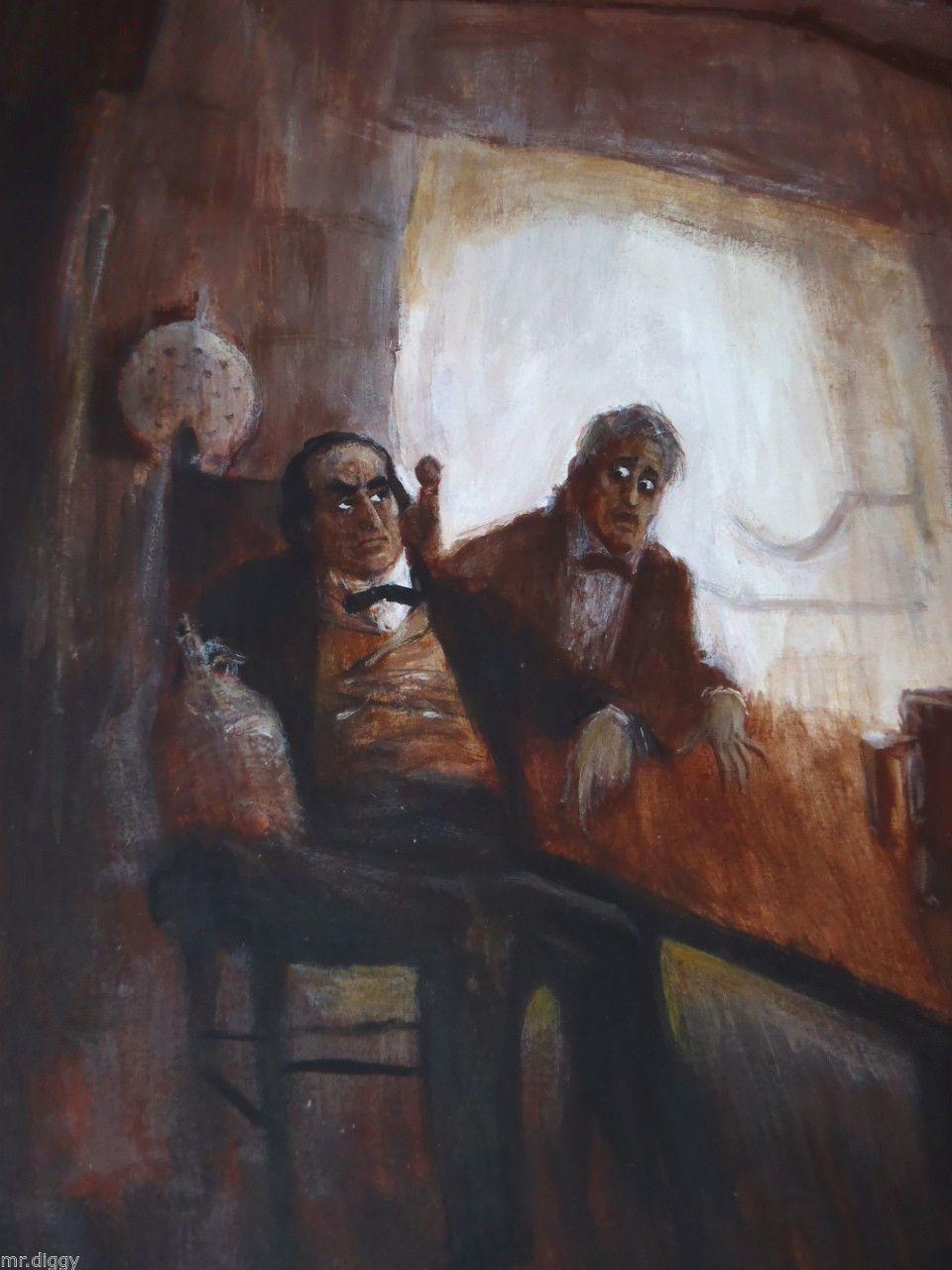"""The Devil and Daniel Webster"", 1960s illustration by Frank Larocco."