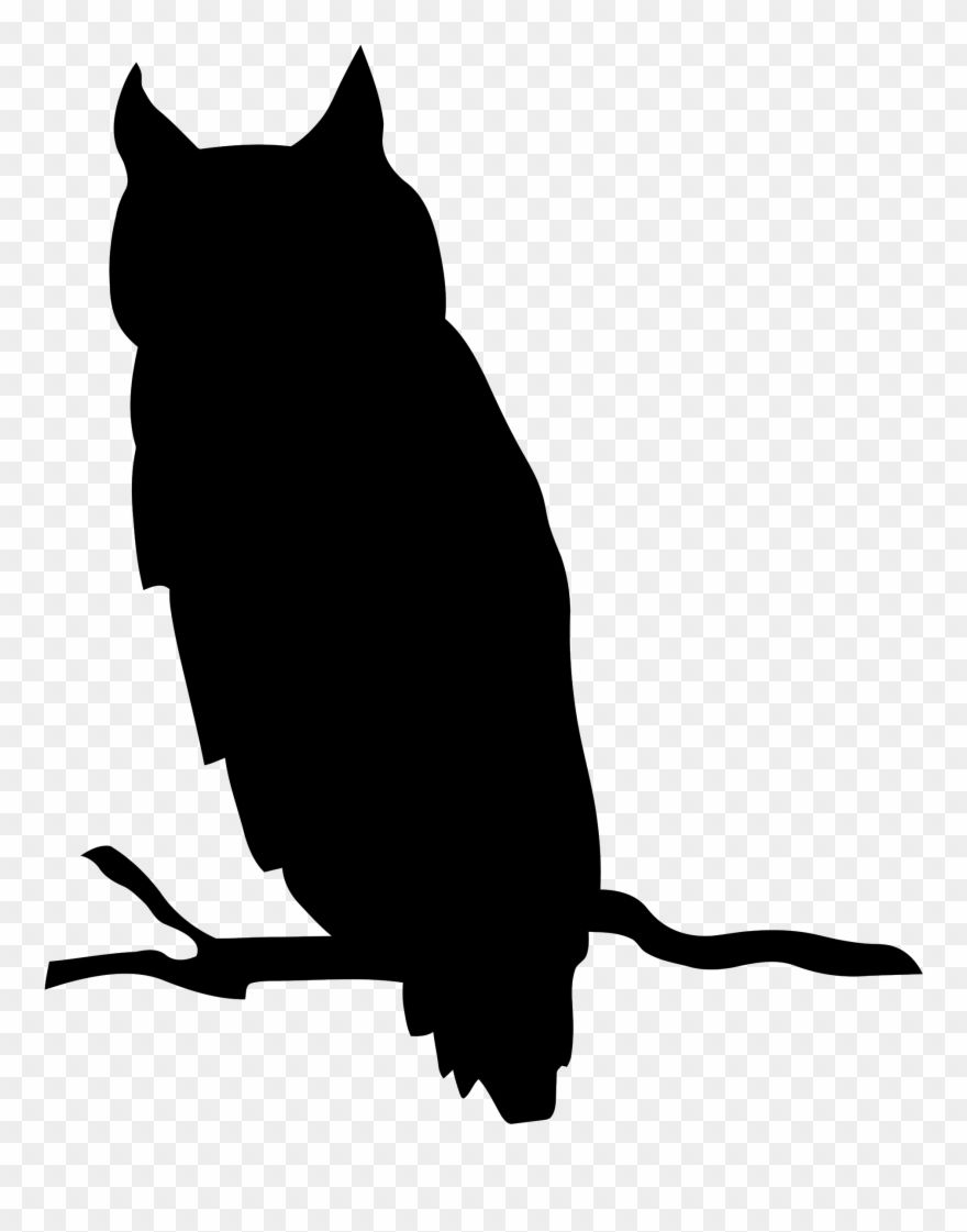 Clipart Silhouette Owl Png Download Owl Silhouette Owl Png Tiger Illustration