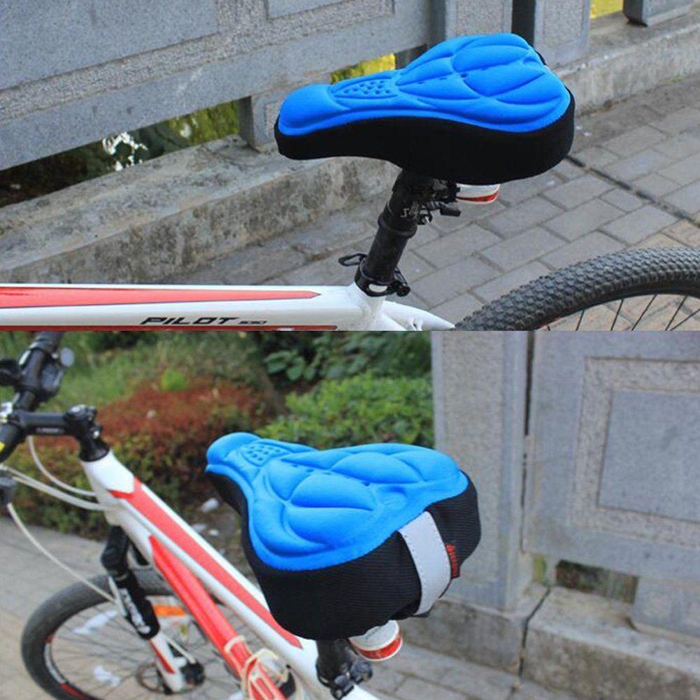 MTB Mountain Bike Bicycle Saddle Seat Soft Memory Foam Padded Cushion Cover