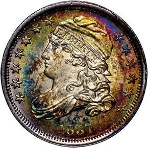 Coin of the Day - 1837 CAPPED 10C MS http://www.ngccoin.com/…/ea…/1837-capped-10c-ms-coinid-14529