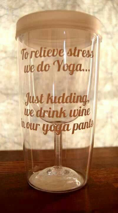 I am sure this counts..and wine is actually quite healthu for you! Look it up!!