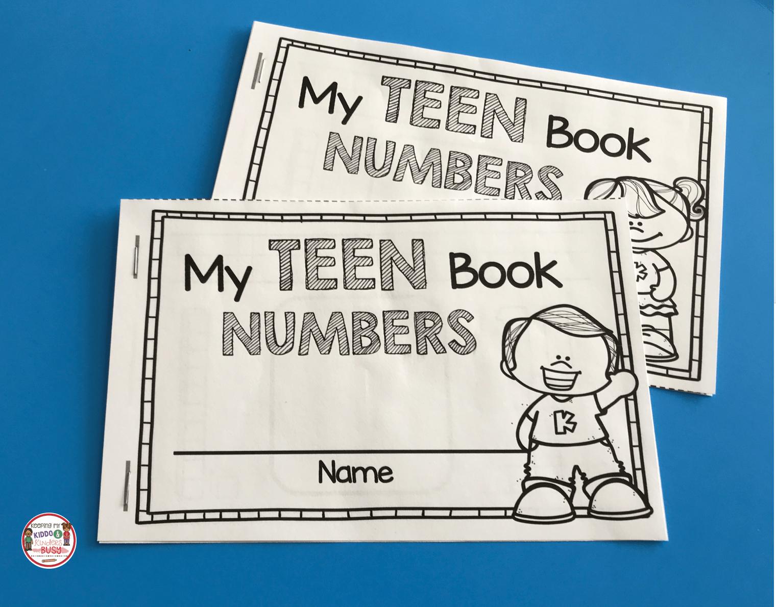 Tricky Teens Worksheet For Kindergarten