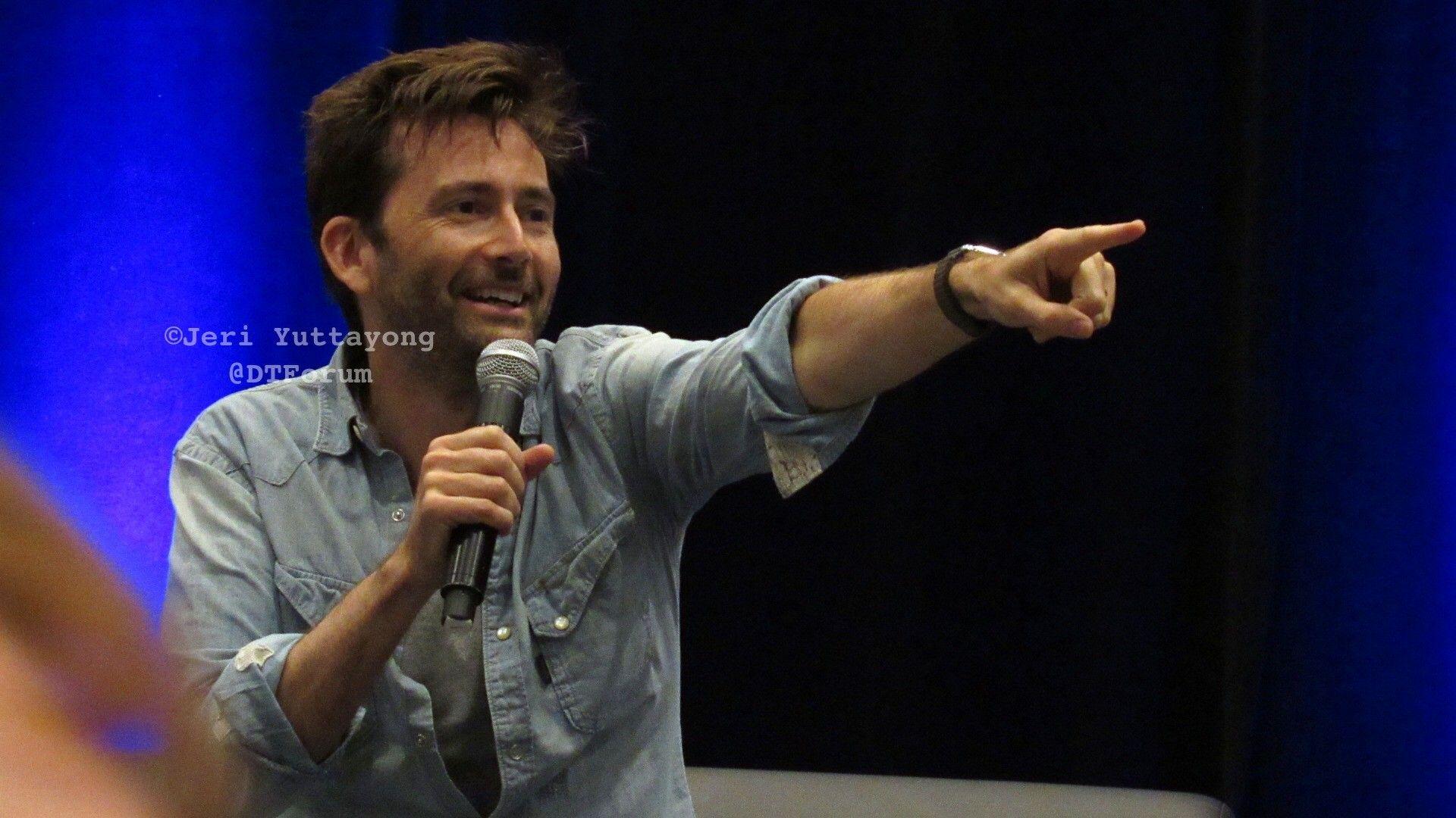 David at the Wizard World Comic Con in Columbus