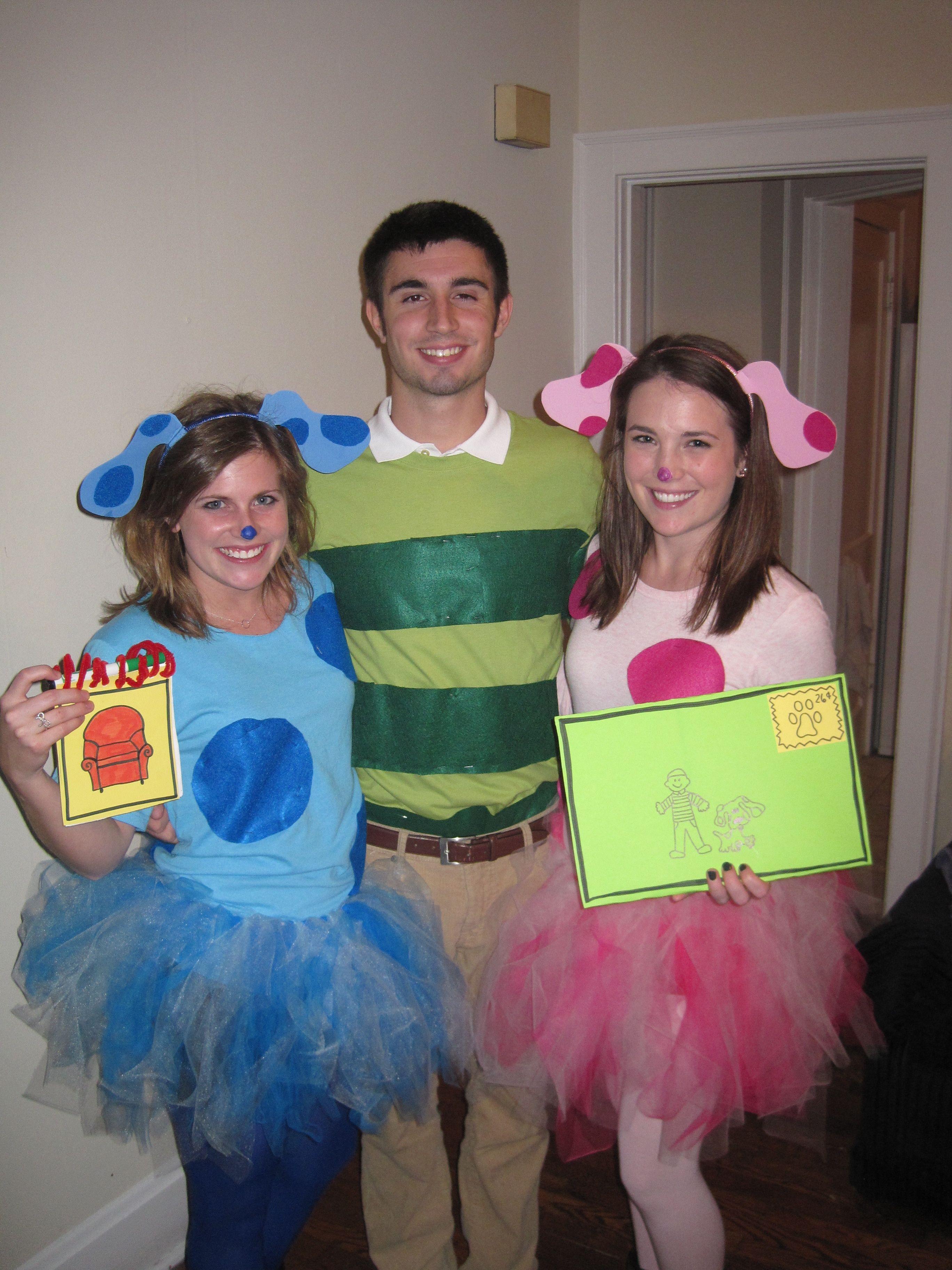 Blue Clues Halloween : clues, halloween, Collins, Halloween, Blues, Clues, Costume,, Zombie, Costumes,, Homemade, Costumes