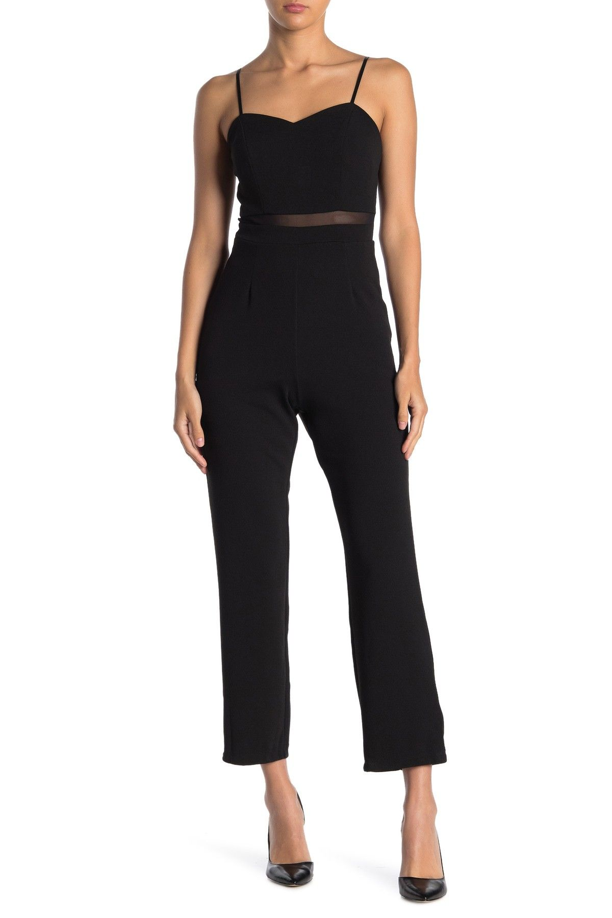 Love, Nickie Lew | Illusion Waist Jumpsuit #nordstromrack