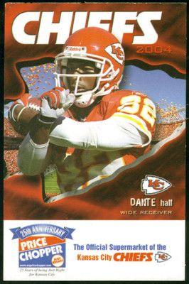 2004 Kansas City Chiefs Price Chopper Football Pocket Schedule Hall On Cover Ebay Kansas City Kansas City Chiefs Kansas City Chiefs Football