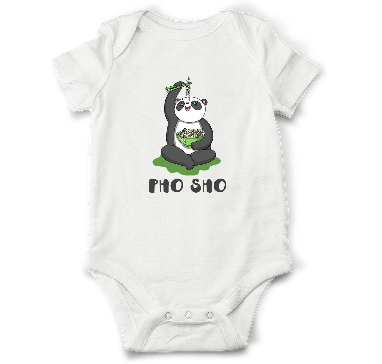 Baby t Funny baby bodysuit Pho Sho Unique baby shower t