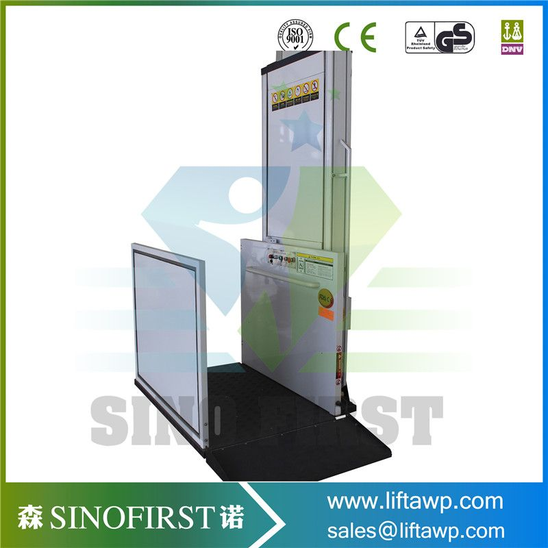 SINOFIRST China 4m 6m Vertical Wheelchair Hydraulic Lifts for ...