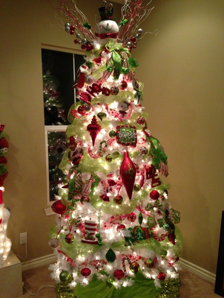 deco mesh tree topper Last, but certainly not least….THE