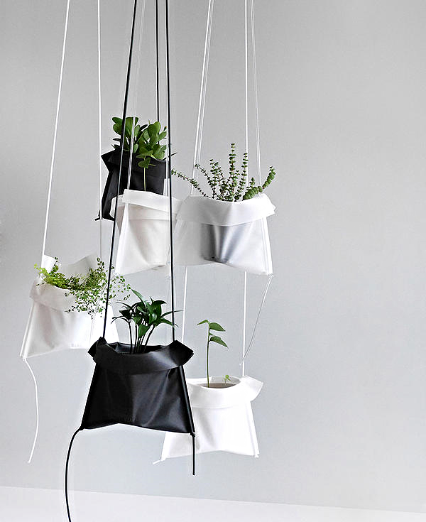 Pot Cradle The Best Hanging Planter For Your Tiny Apartment