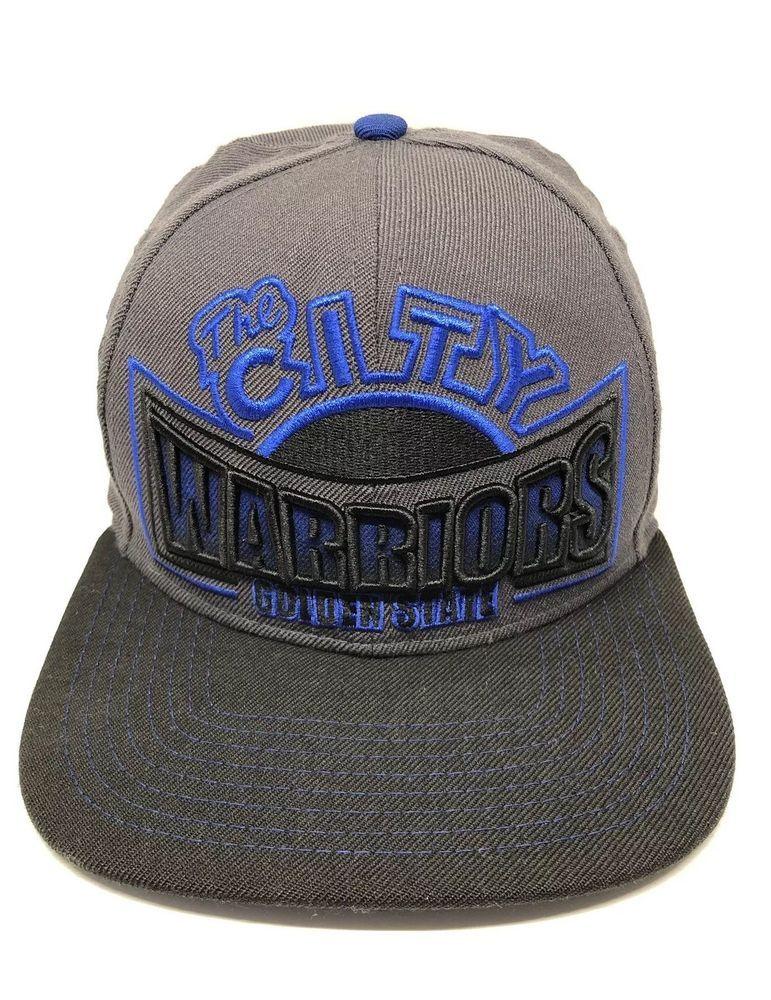 newest 74e32 5b2c3 NBA Golden State Warriors Cap Hat Adult Snapback Hardwood Classics 100%  Wool   eBay