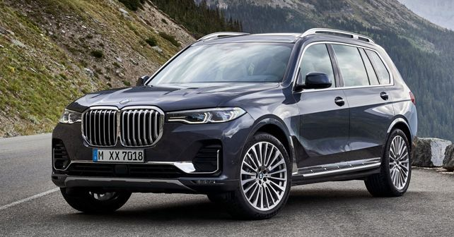 Already listed on the official BMW website, the X7 is