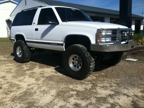 1993 Chevy Blazer K1500 Tahoe 2dr Lifted And Supercharged 37