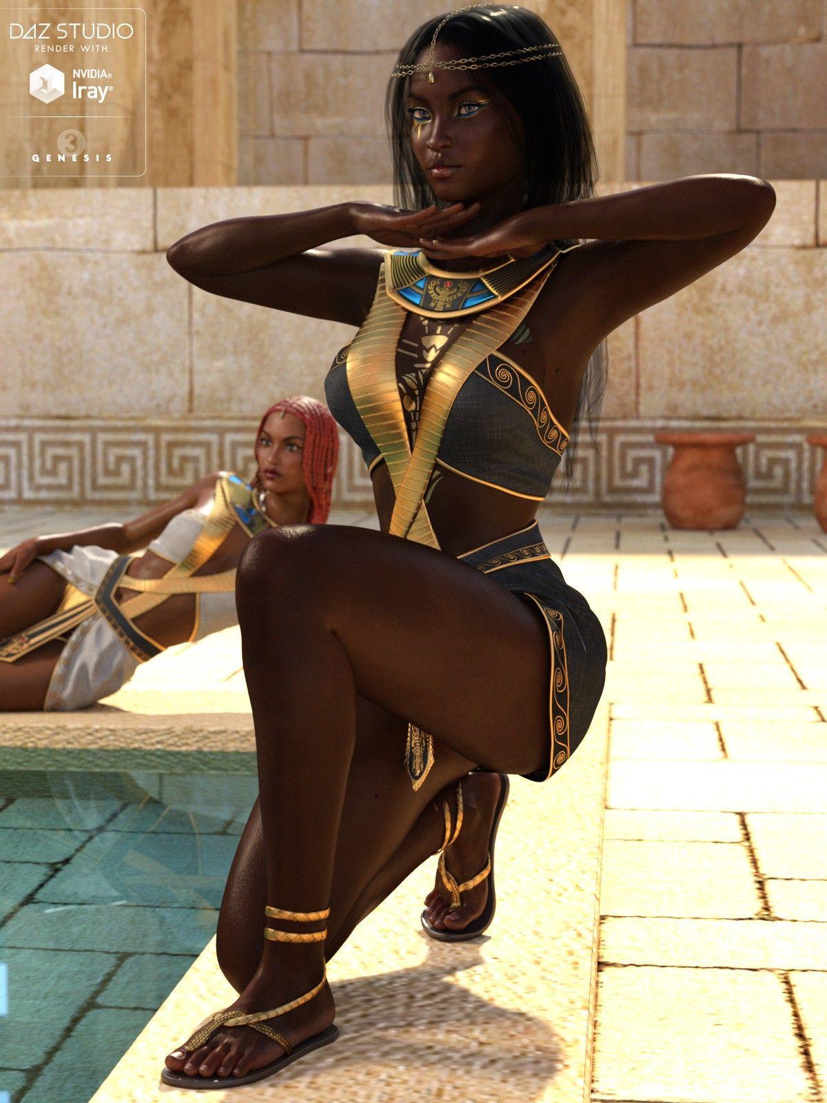 Egyptian MEGA Bundle - Characters, Outfits, Hair, Poses