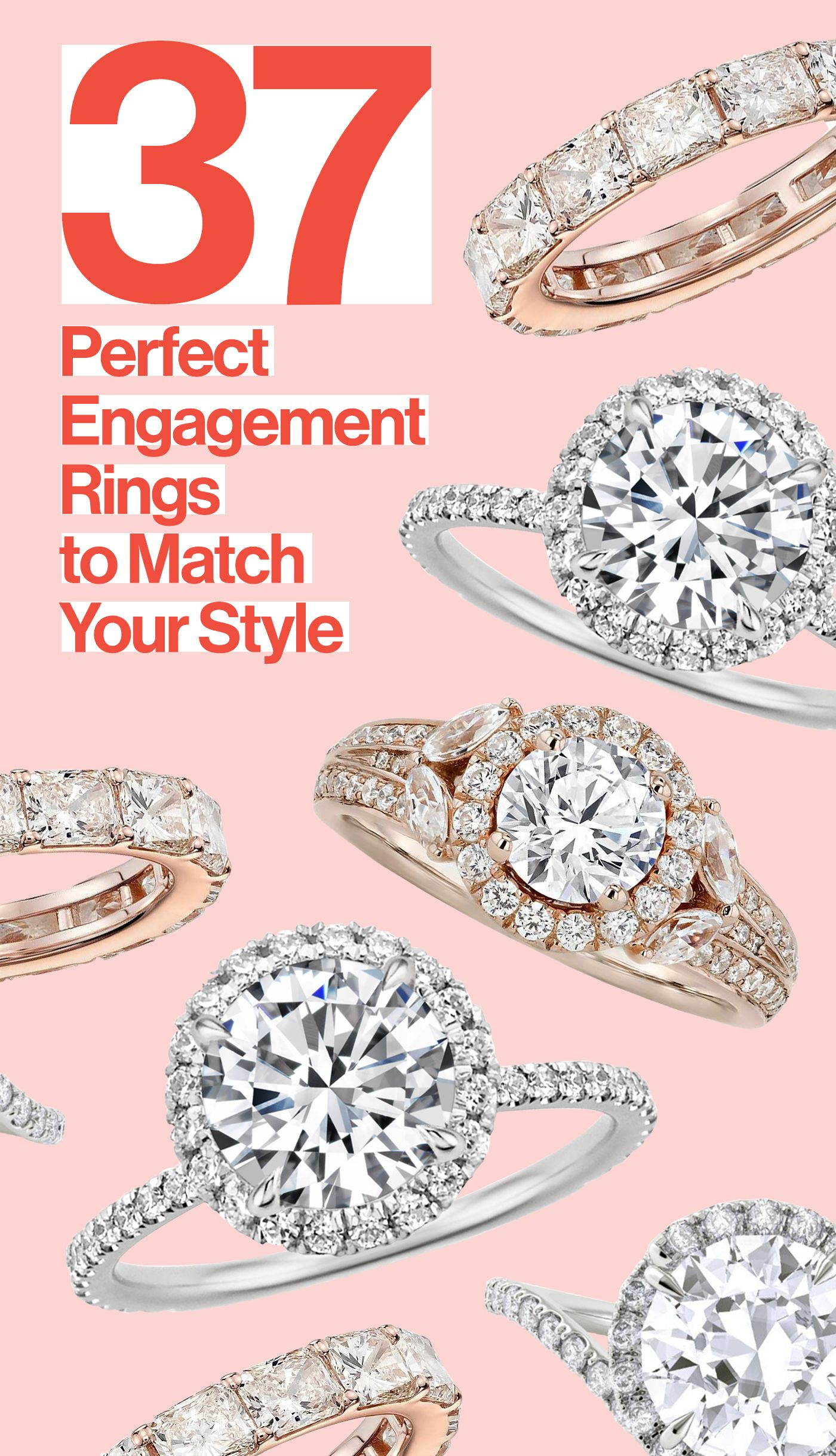 37 Best Engagement Rings for Every Bride | Pinterest | Engagement ...