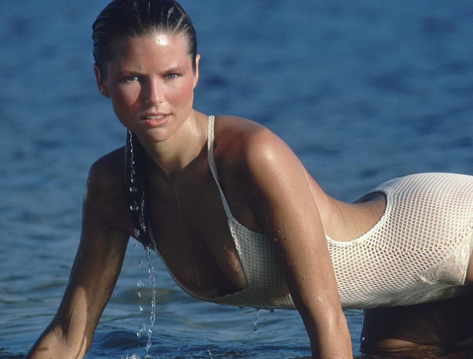 Christie Brinkley... this is why she was on the cover of
