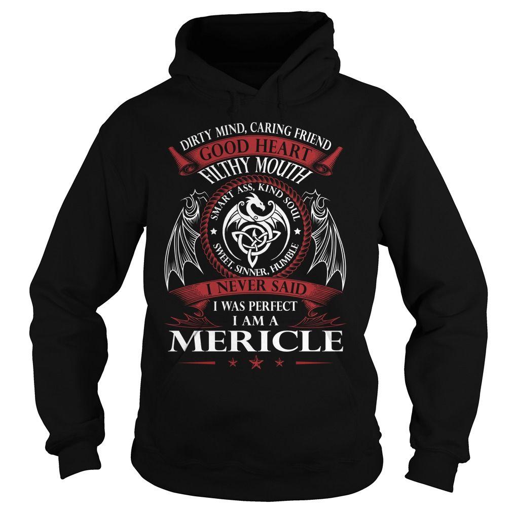 MERICLE Good Heart - Last Name, Surname TShirts