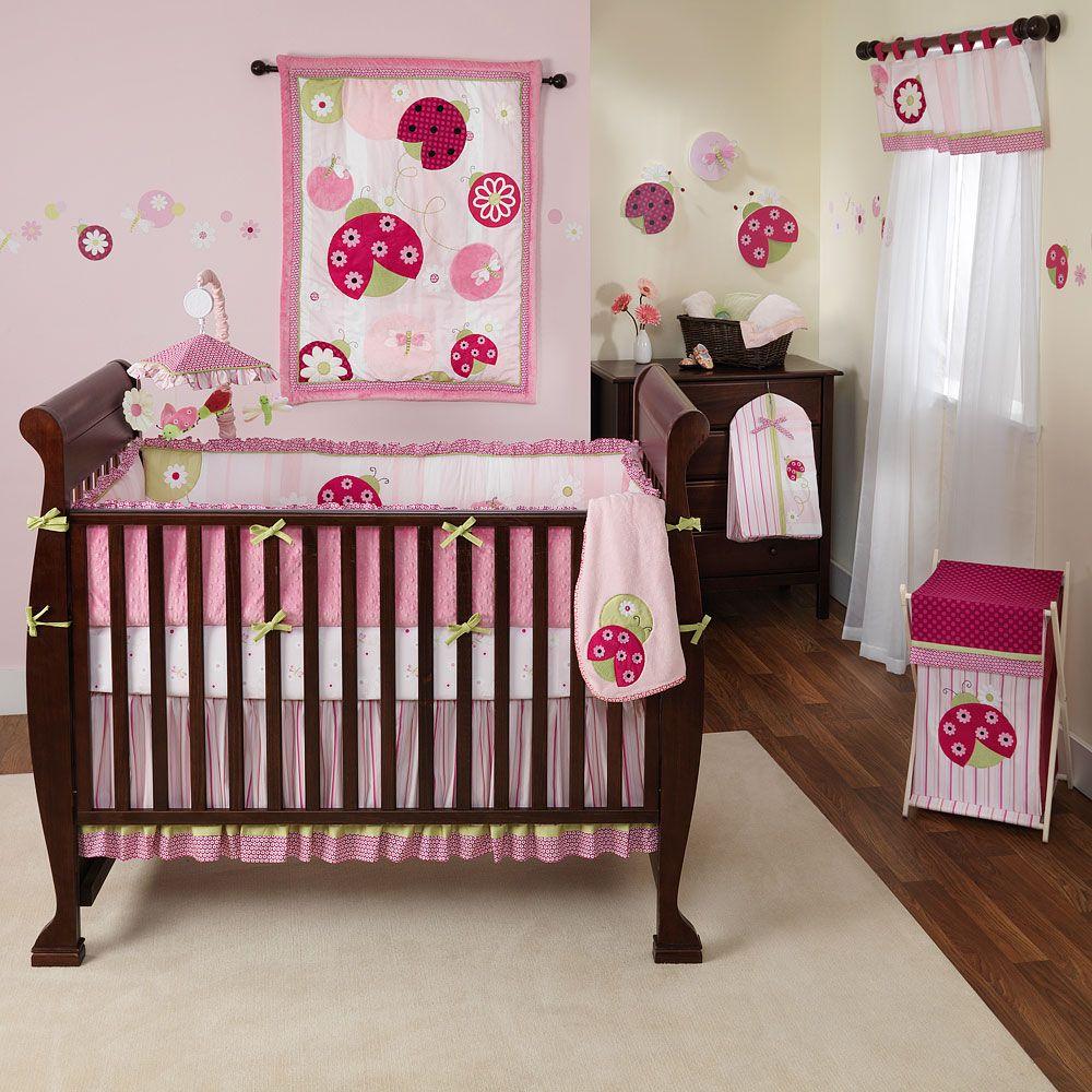 Ladybug Bedroom Set. baby nursery delightful pink girl baby nursery ...