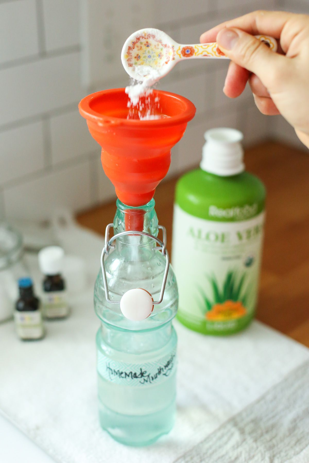 Easy homemade mouthwash live simply homemade mouthwash