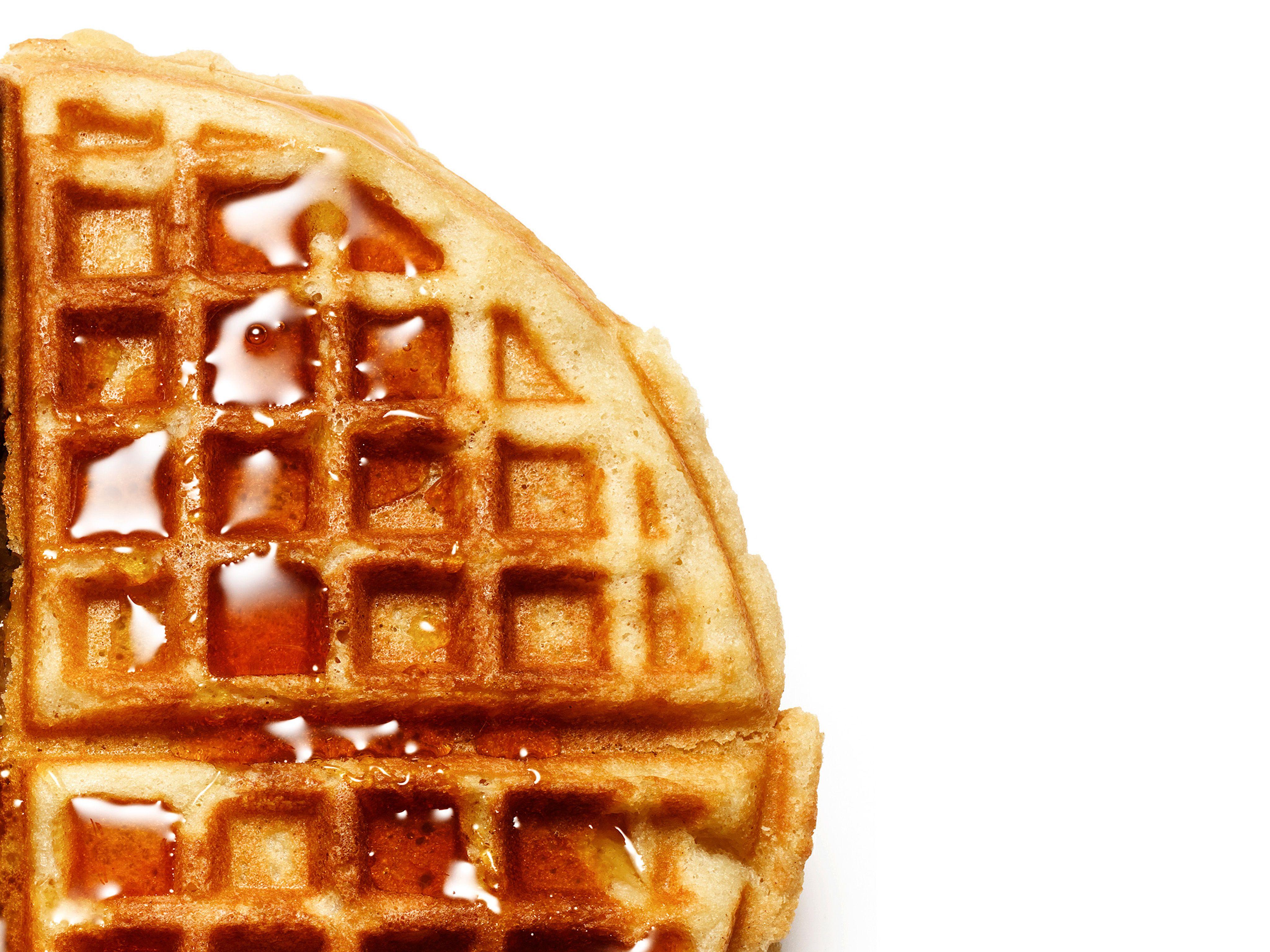 Sour Cream Waffles Recipe Food Network Recipes Waffle Recipes Food