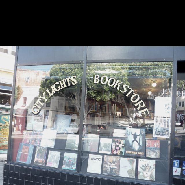 City lights book store in SFO