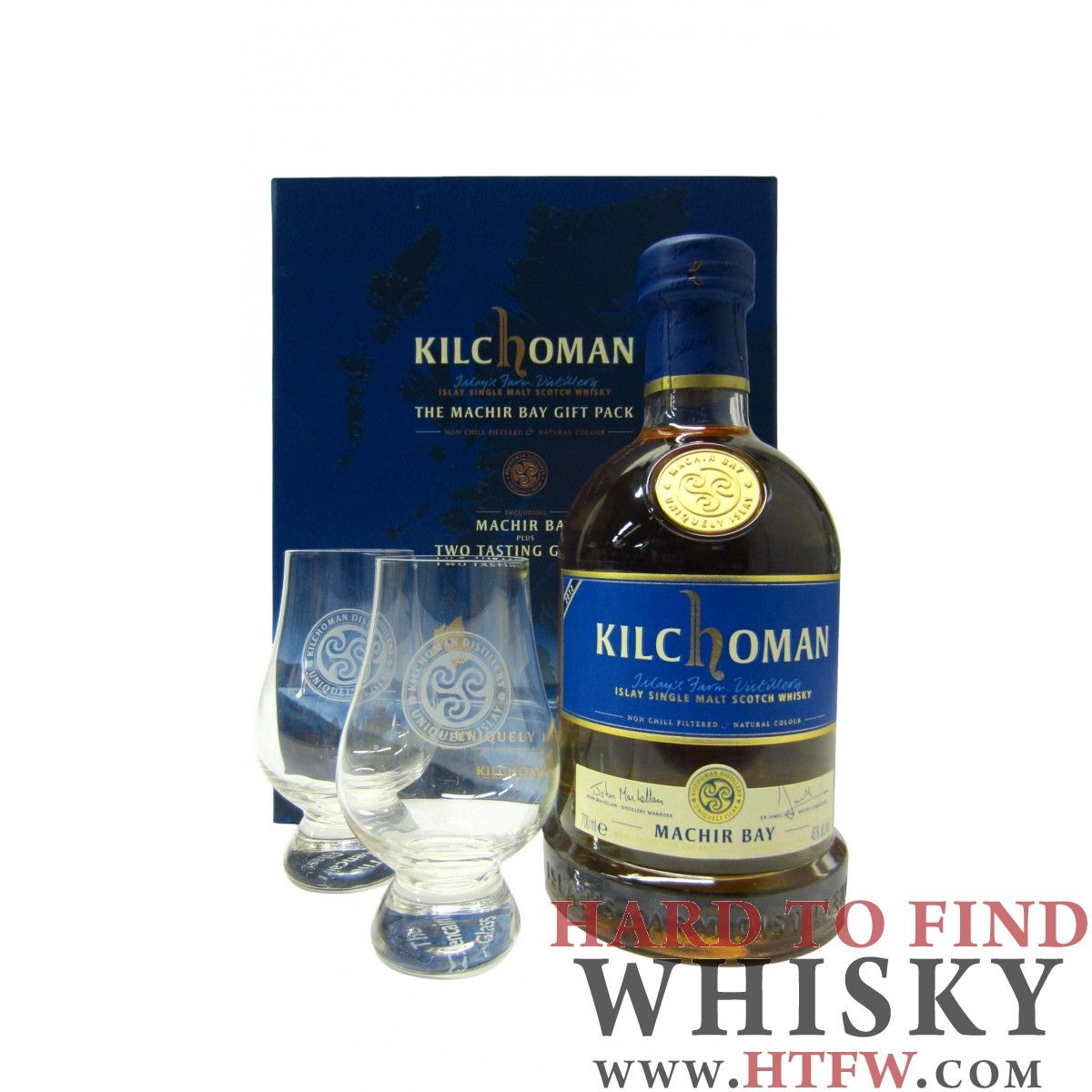 Buy Kilchoman The Machir Bay Gift Pack 3 year old Whisky Online | HTFW