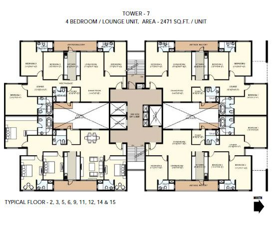4 floor apartment plan apartment decorating ideas for Apartment building plans 4 units