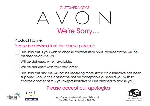 sorry avon product sold out avon ideas pinterest avon avon
