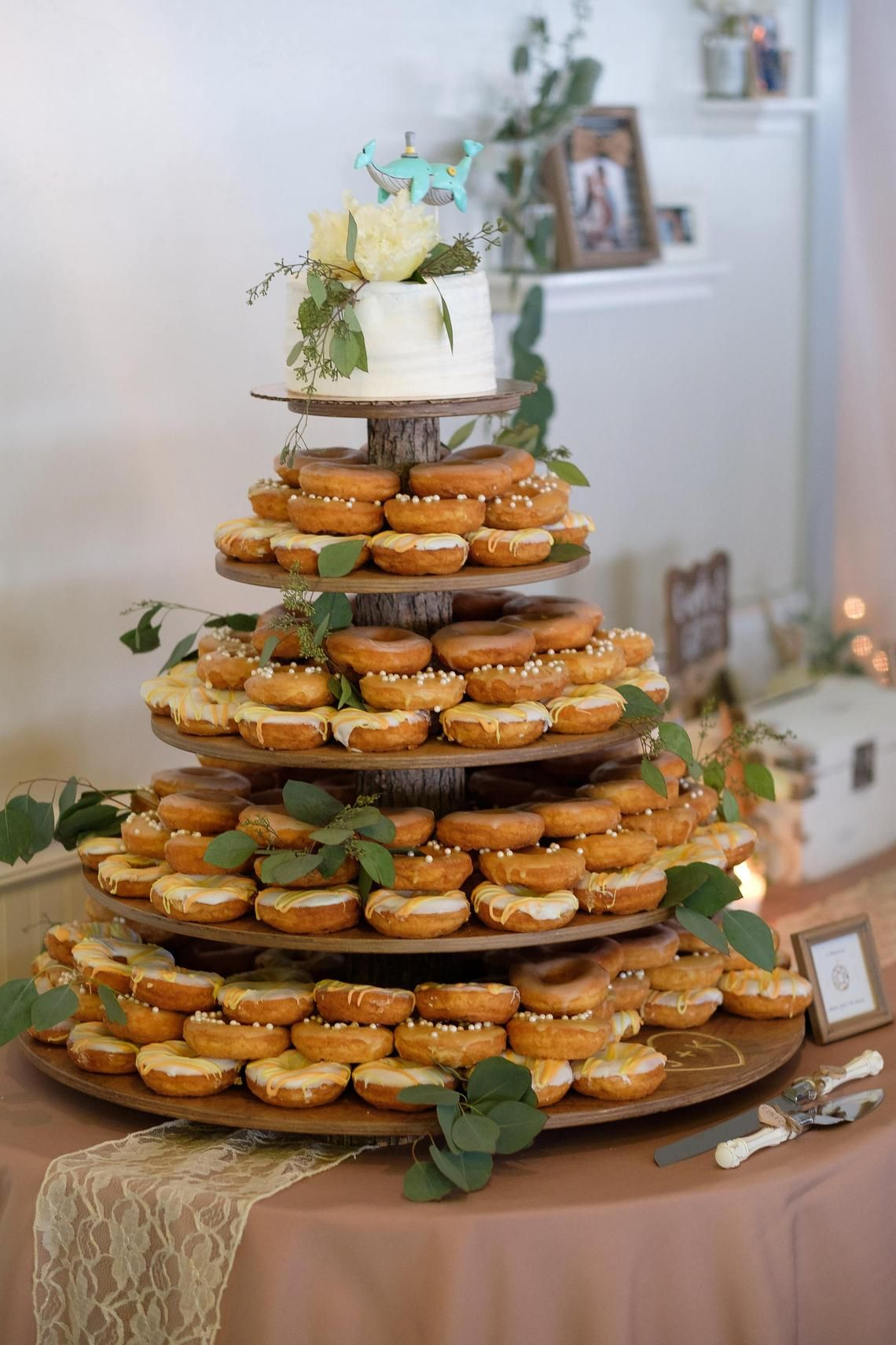 Rustic Cupcake Stand 5 Tier (Tower Holder) 120 Cupcakes