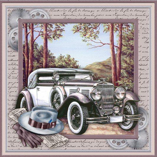 Для фото, фон для открытки автомобили
