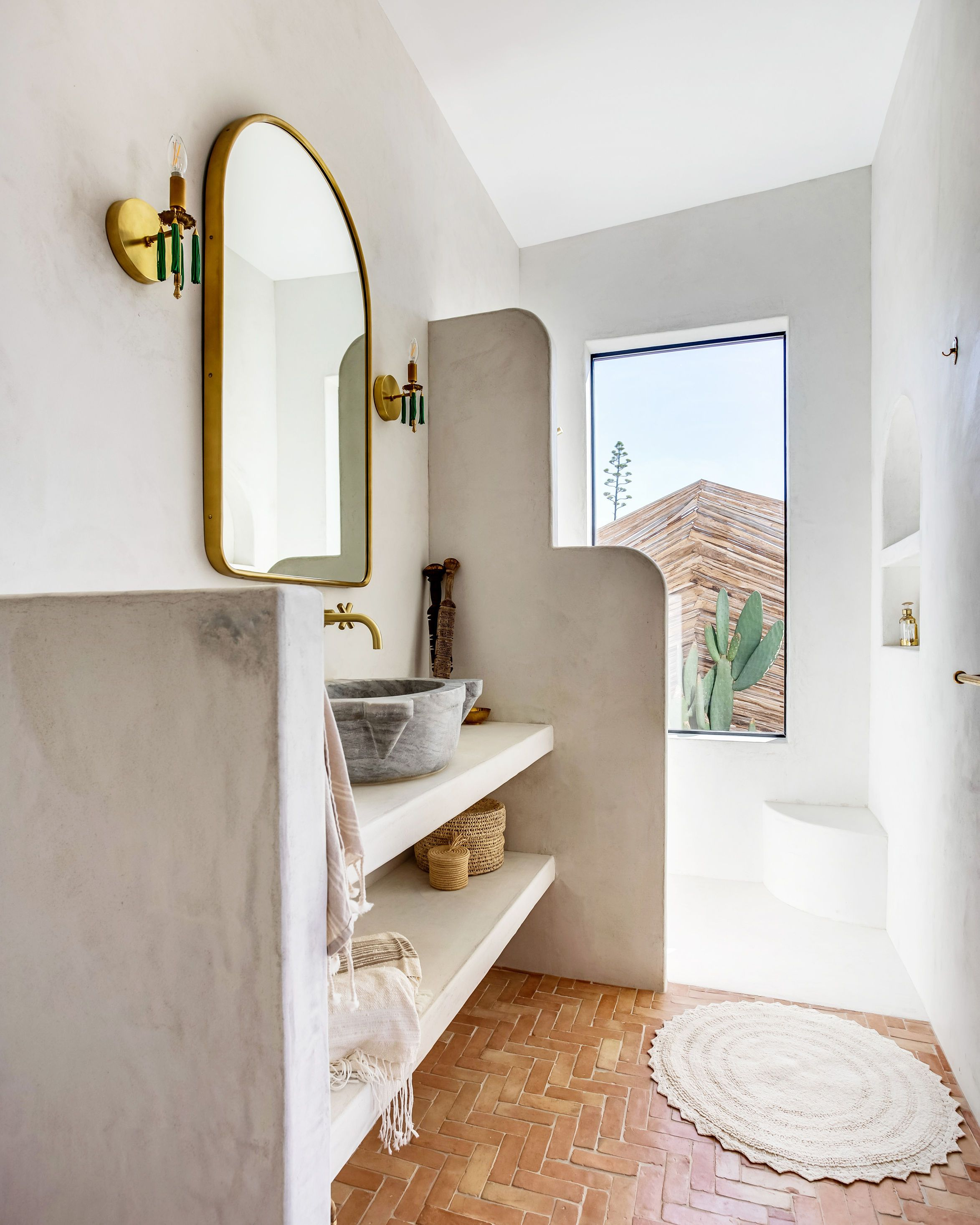 Photo of Home Tour: A Mediterranean and Southwest-Inspired Joshua Tree Abode – Sunset