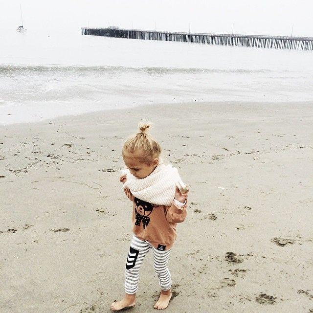 """""""I like long walks on the beach..."""" Just like Simone!"""