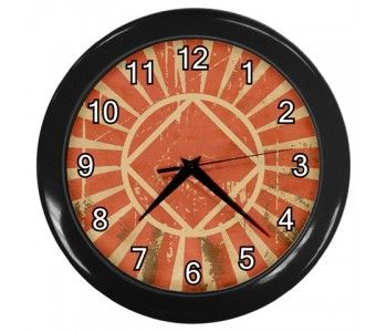 Na Narcotics Anonymous Retro Grunge Wall Clock Recovery Humor Narcotics Anonymous Recovery