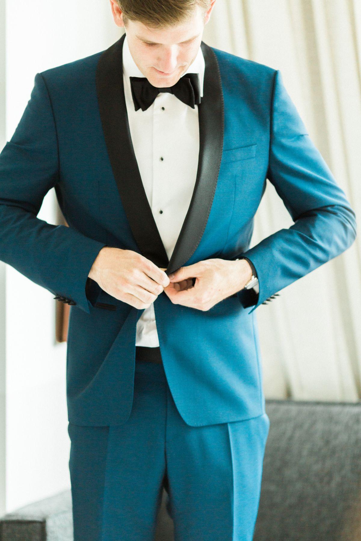 Sophisticated + Modern Denver Wedding   Hugo boss suit, Bridal ...