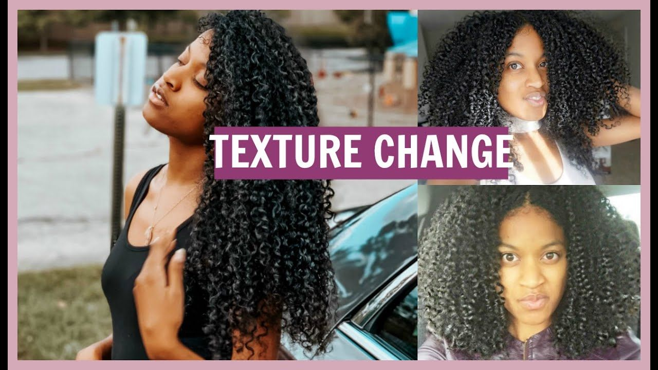 Did My Natural Hair Texture Change My New Hair Growth Youtube Texturizer On Natural Hair New Hair Growth Hair Growth Oil