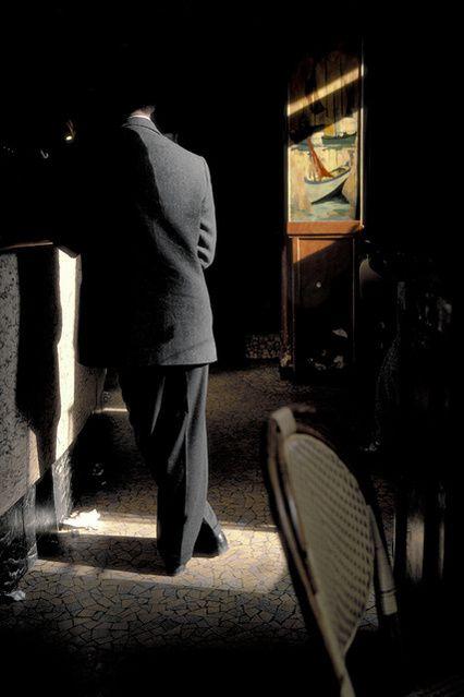 Harry Gruyaert Café la Palette, Paris 1985