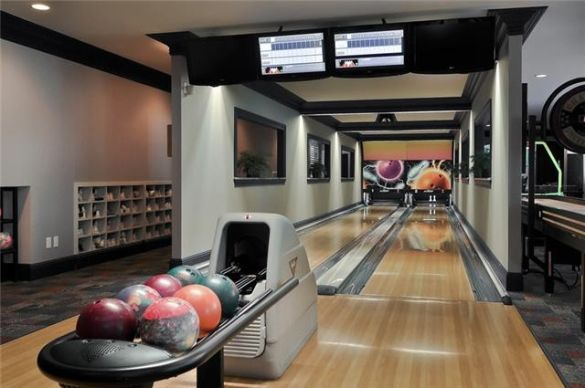 Kingpin Alley Million Dollar Homes with Bowling Lanes PHOTOS
