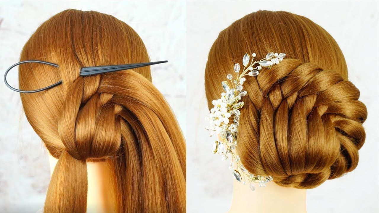 Easy Hairstyle For Beginners Step By Step Hairstyles Tricks And Hacks Hairstyles Wedding Youtube Easy Hairstyles Step By Step Hairstyles Hair Styles