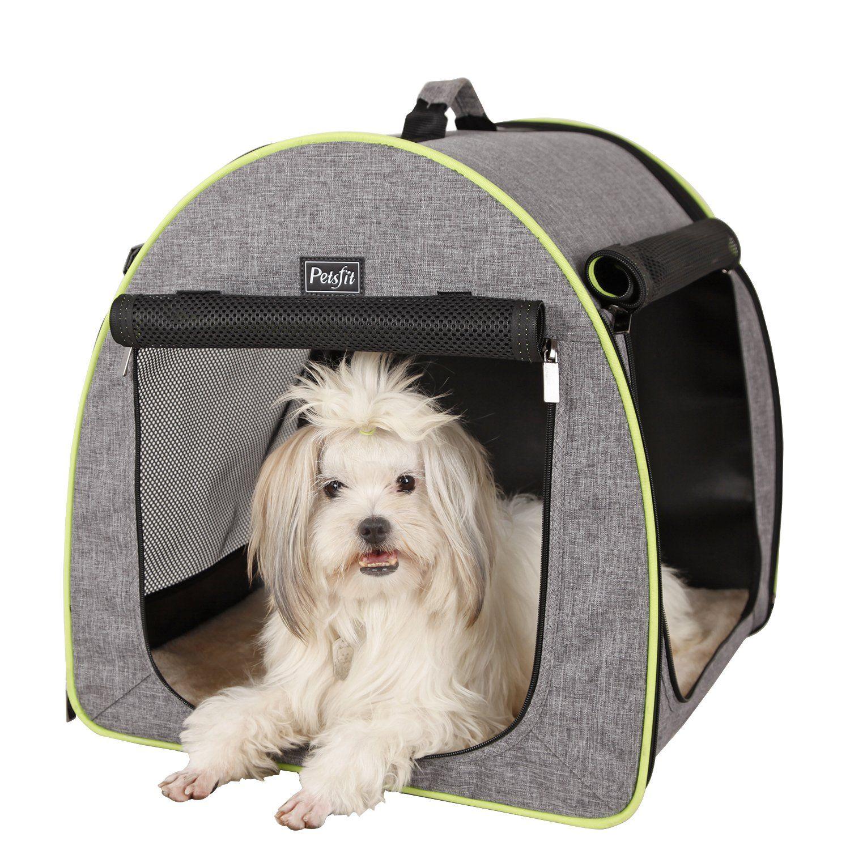 Petsfit Soft Portable Dog Crate Cat Crate Foldable Pet Kennel