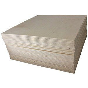 Amazon Com 1 8 X 12 X 12 Baltic Birch Plywood Great For Laser Cnc And Scroll Saw 45pc Woodpeckers Baltic Birch Plywood Wood Wood Stars