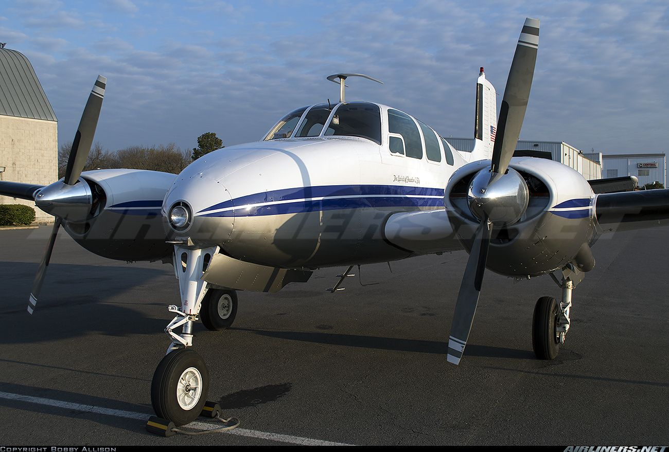 Beech C50 Twin Bonanza Aircraft Picture Aircraft