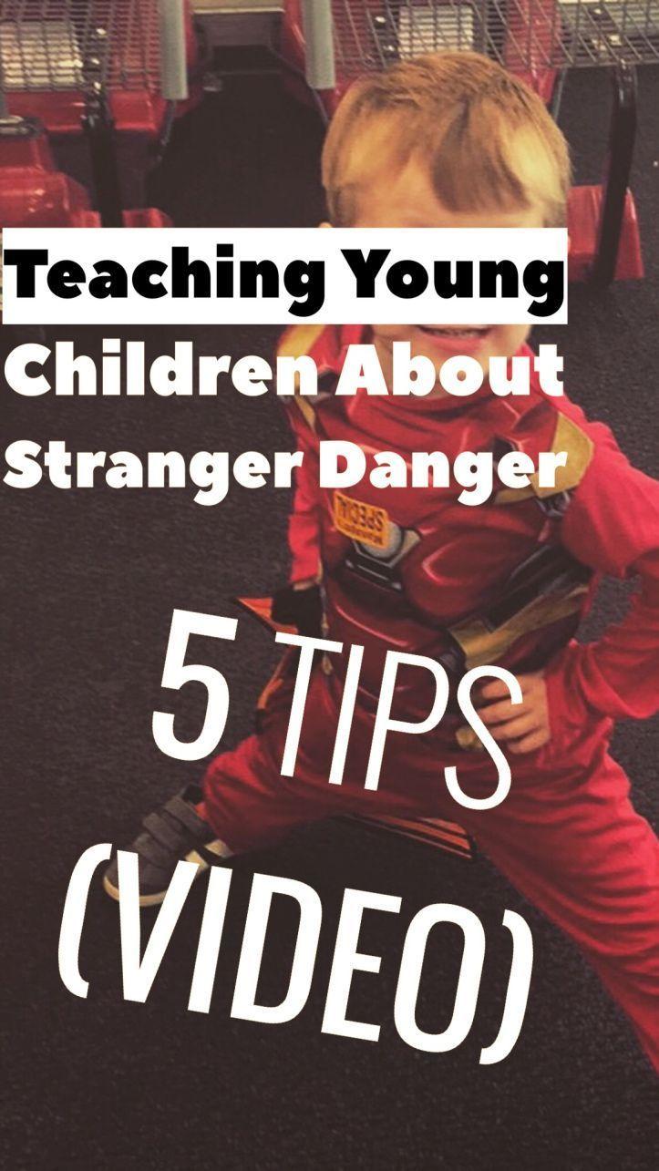 Teaching Stranger Danger To Young Kids (5 Tips + Video #strangerdanger