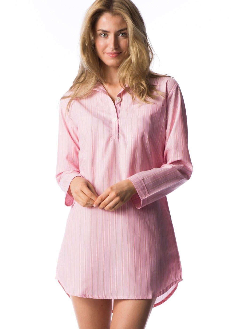 Womens sleep shirt shirts pinterest for Women s flannel sleep shirt