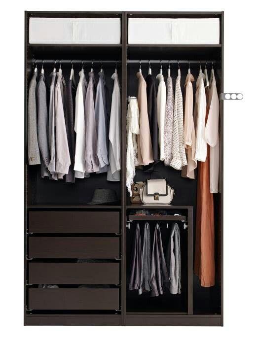 Propping with clothes Wohnen Pinterest Kleiderschrank, Schrank