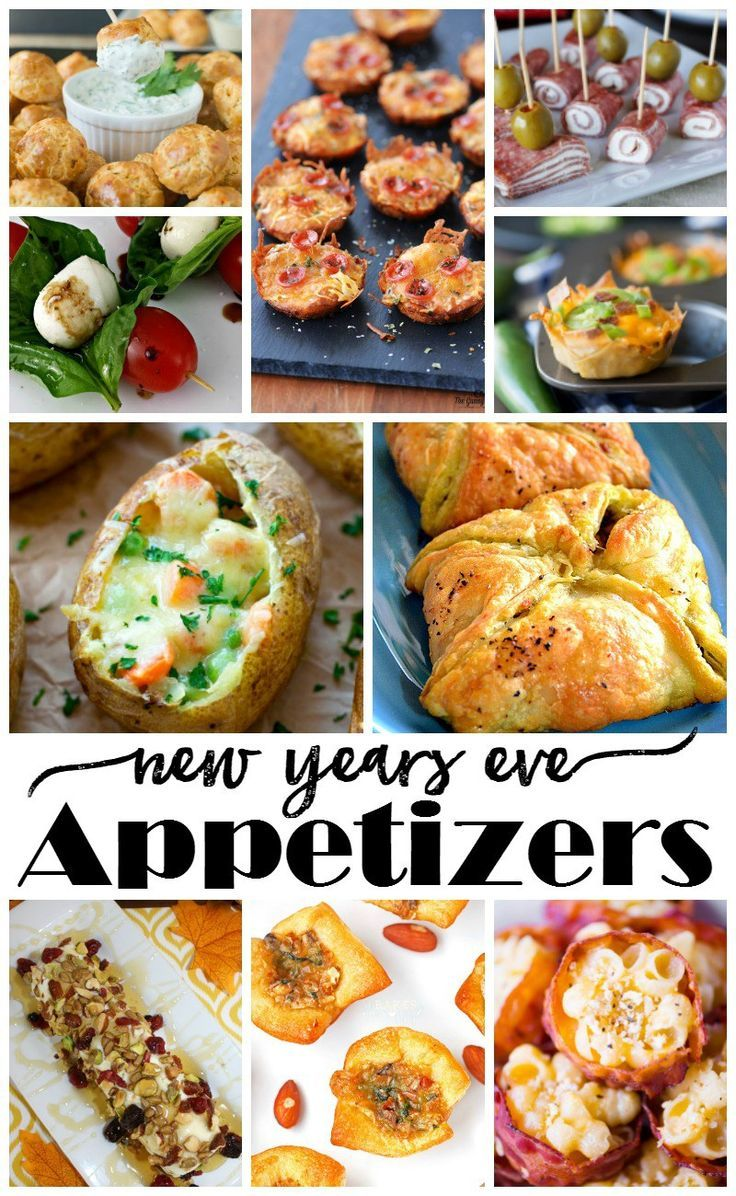 New Year's Eve Appetizers - It's me, debcb!