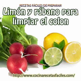 Limón Y Rábano Para Limpiar El Colon Fruit Food Vegetables