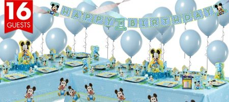 Mickey Mouse 1st Birthday Party Supplies