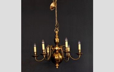 A brass chandelier - LASSCO - England's Prime Resource for Architectural Antiques, Salvage and Curiosities