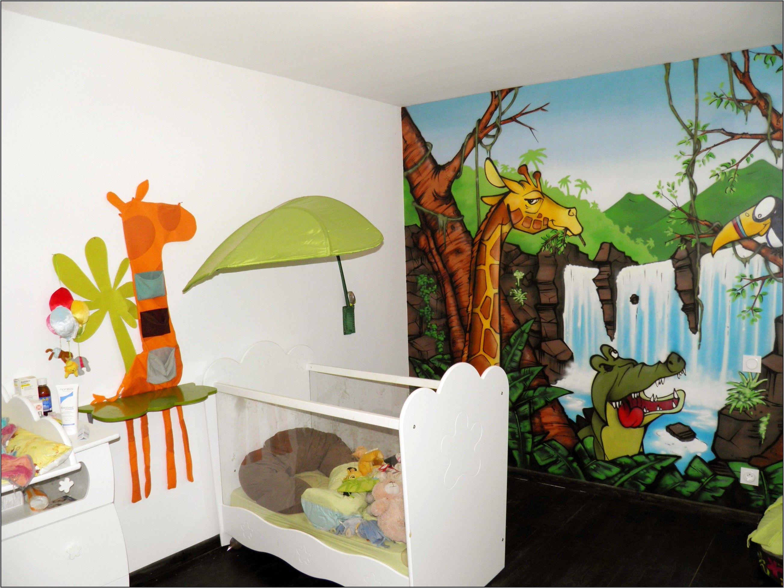 Deco Chambre Bebe Theme Savane in 20  Jungle theme, Chambre