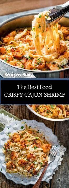 ★★★★★ 333 bewertungen: Rezept Susy ==> CRISPY CAJUN SHRIMP FETTUCCINE #CRISPY #CAJUN #SHRIMP #FETTUCCINE Crispy Cajun Shrimp Fettuccine mit einer unglaublich einfachen cremigen Sauce und einer knusprigen Cajun-Garnele mit etwas Hitze. Dies kann alles in 20 Minuten auf dem Tisch sein! -  - #Genel #shrimpfettuccine ★★★★★ 333 bewertungen: Rezept Susy ==> CRISPY CAJUN SHRIMP FETTUCCINE #CRISPY #CAJUN #SHRIMP #FETTUCCINE Crispy Cajun Shrimp Fettuccine mit einer unglaublich einfach #shrimpfettuccine